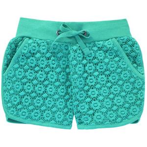 Mädchen Shorts mit Vollspitze