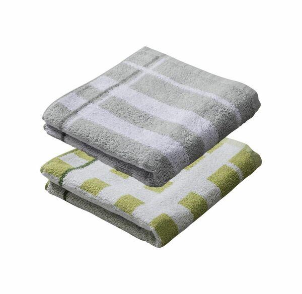 Home Handtuch mit Karomuster, 50x100cm