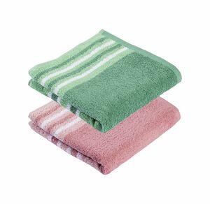 Home Handtuch mit trendigen Streifen, 50x100cm