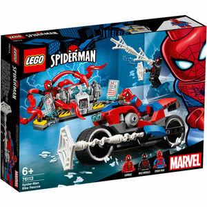LEGO® Spider-Man Motorradrettung 76113