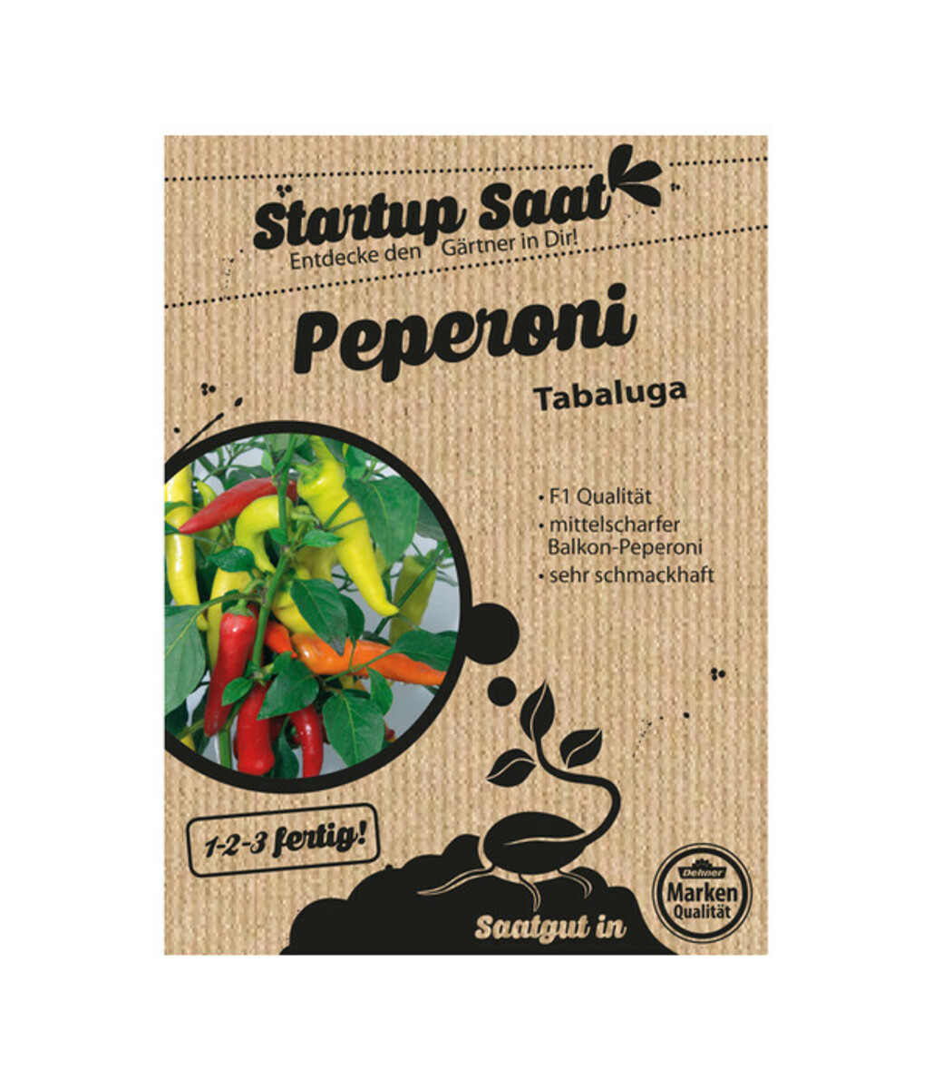 Bild 1 von Dehner Samen Peperoni 'Tabaluga'