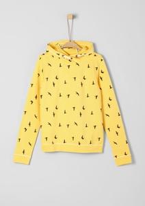 Sweatshirt mit Printmuster