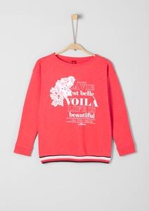 Oversize-Sweater mit Artwork