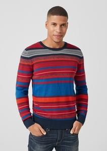 Pullover mit Ringelmuster