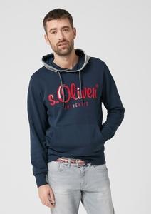 Tall Size: Sweatshirt mit Label-Print