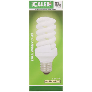 Calex Kompakte Fluoreszierende Glühbirne Longer Life