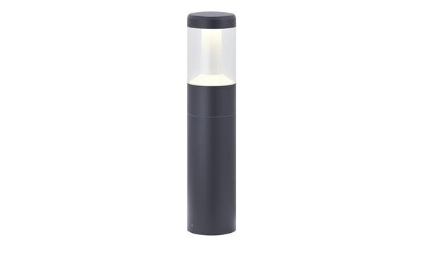 LED-Außenpollerleuchte, Dunkelgrau