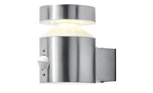 LED-Außenleuchte, mit Sensor, Edelstahl