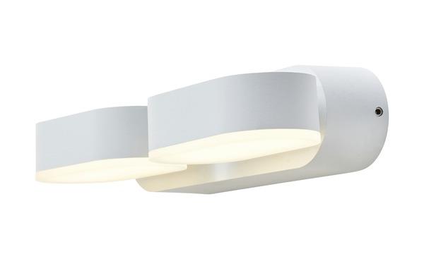 LED-Außenleuchte, 2-flammig, Weiß