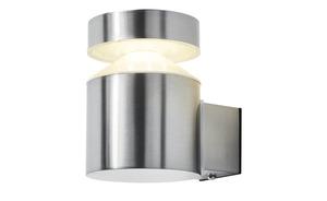 LED-Außenwandleuchte, 1-flammig, Edelstahl