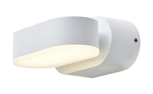 LED-Außenwandleuchte, 1-flammig, Weiß
