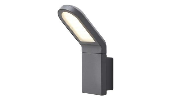 LED-Außenwandleuchte, Dunkelgrau