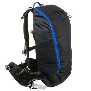 Rucksack Speed Hiking FH500 Helium Trail 15 Liter Erwachsene schwarz/blau