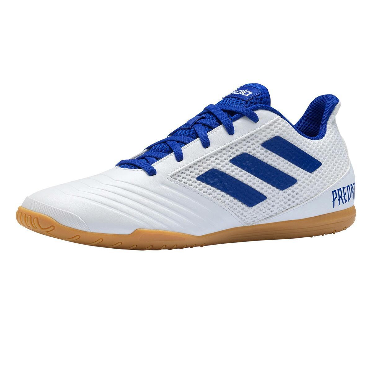 Bild 1 von Hallenschuhe Futsal Fußball Predator Tango 4 FS19 Erwachsene weiß/blau