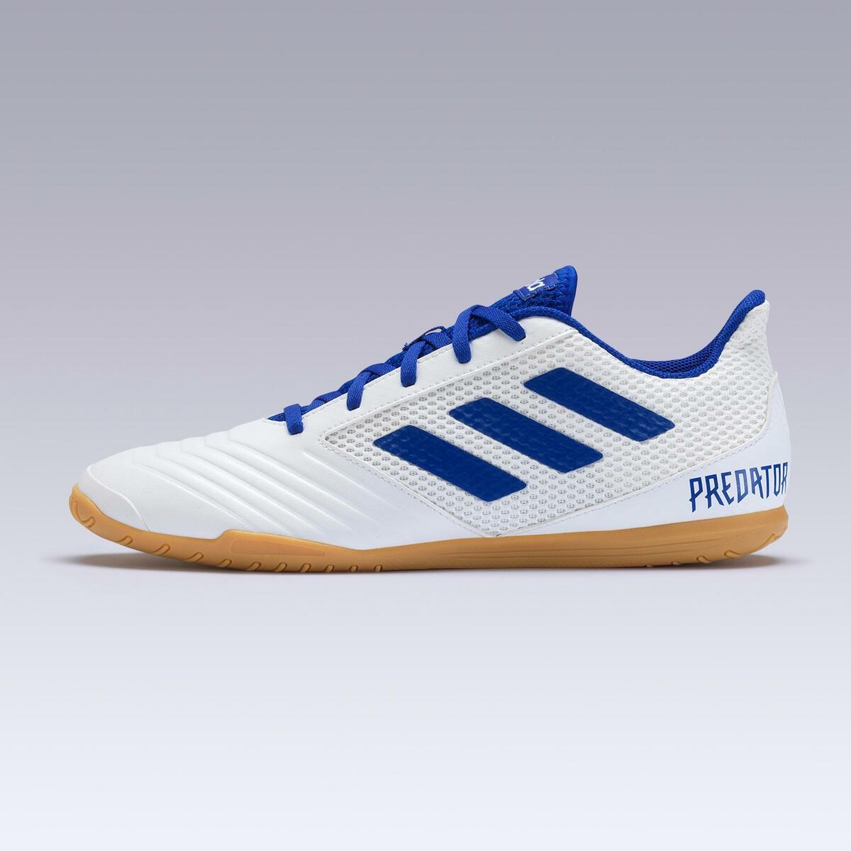 Bild 2 von Hallenschuhe Futsal Fußball Predator Tango 4 FS19 Erwachsene weiß/blau
