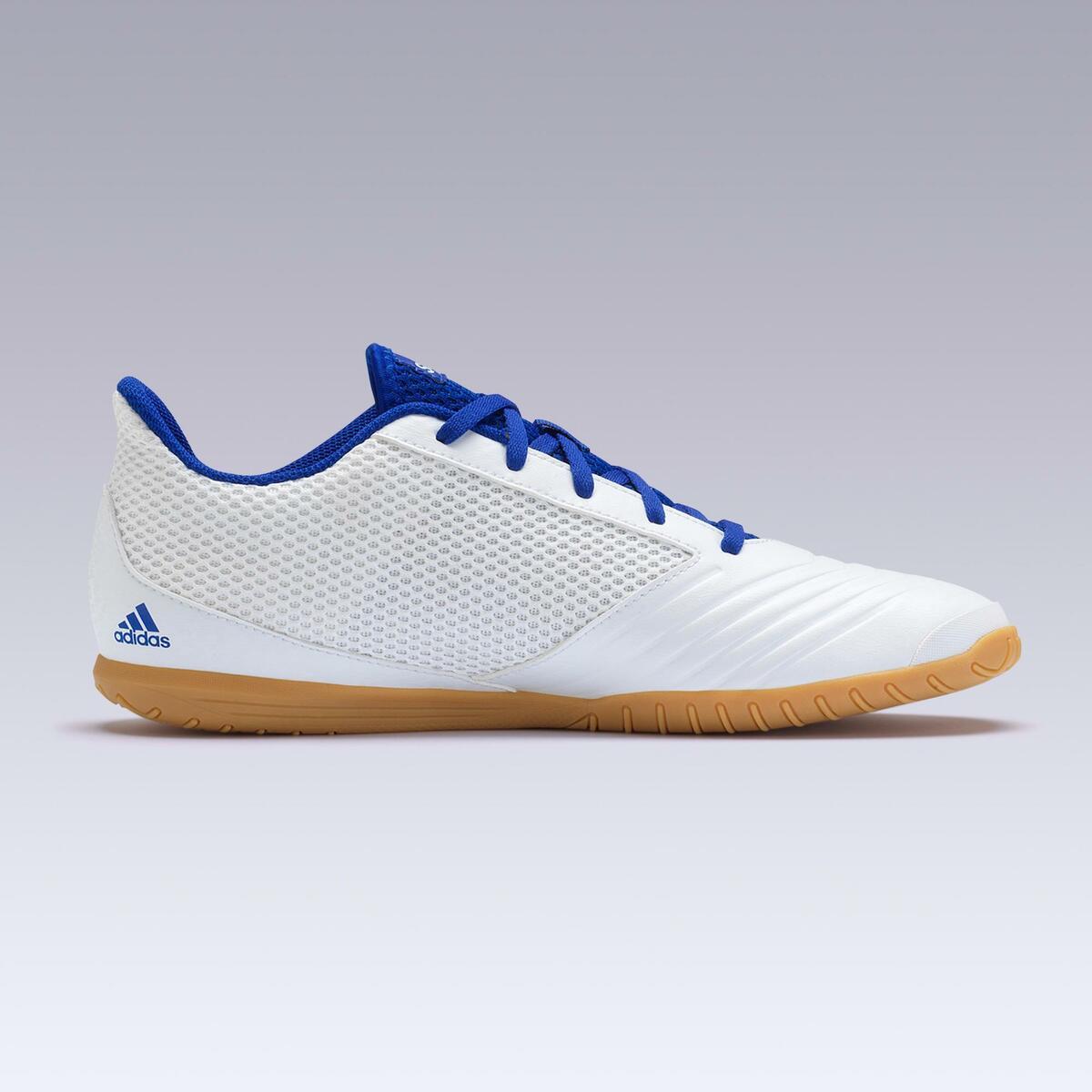 Bild 3 von Hallenschuhe Futsal Fußball Predator Tango 4 FS19 Erwachsene weiß/blau