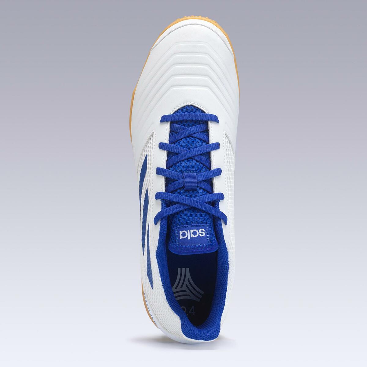 Bild 4 von Hallenschuhe Futsal Fußball Predator Tango 4 FS19 Erwachsene weiß/blau