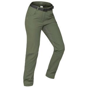 Wanderhose Winterwandern SH500 X-Warm Damen khaki