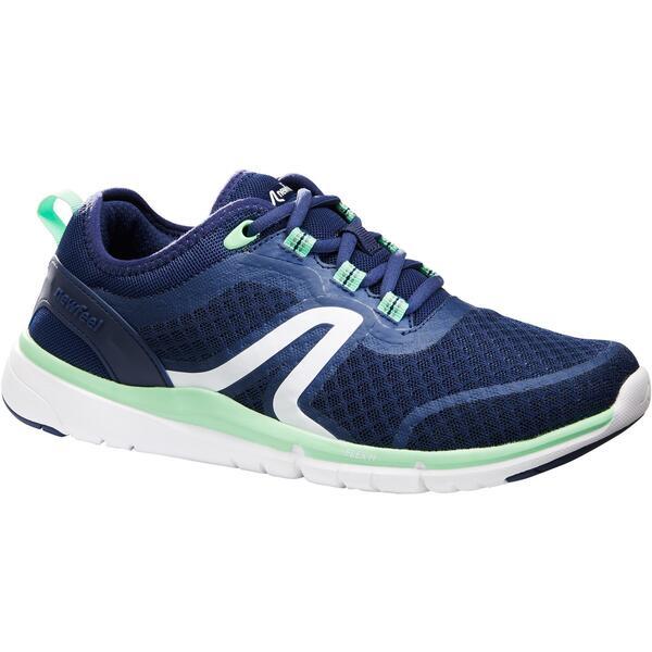 Walkingschuhe Soft 540 Mesh Damen marineblau/grün