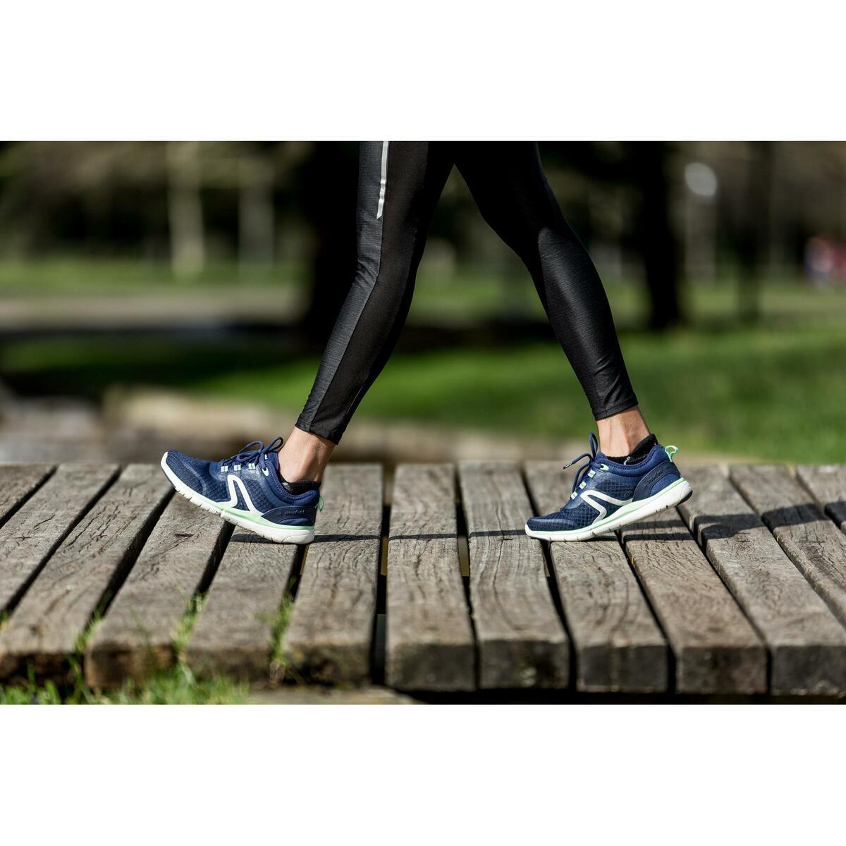 Bild 2 von Walkingschuhe Soft 540 Mesh Damen marineblau/grün