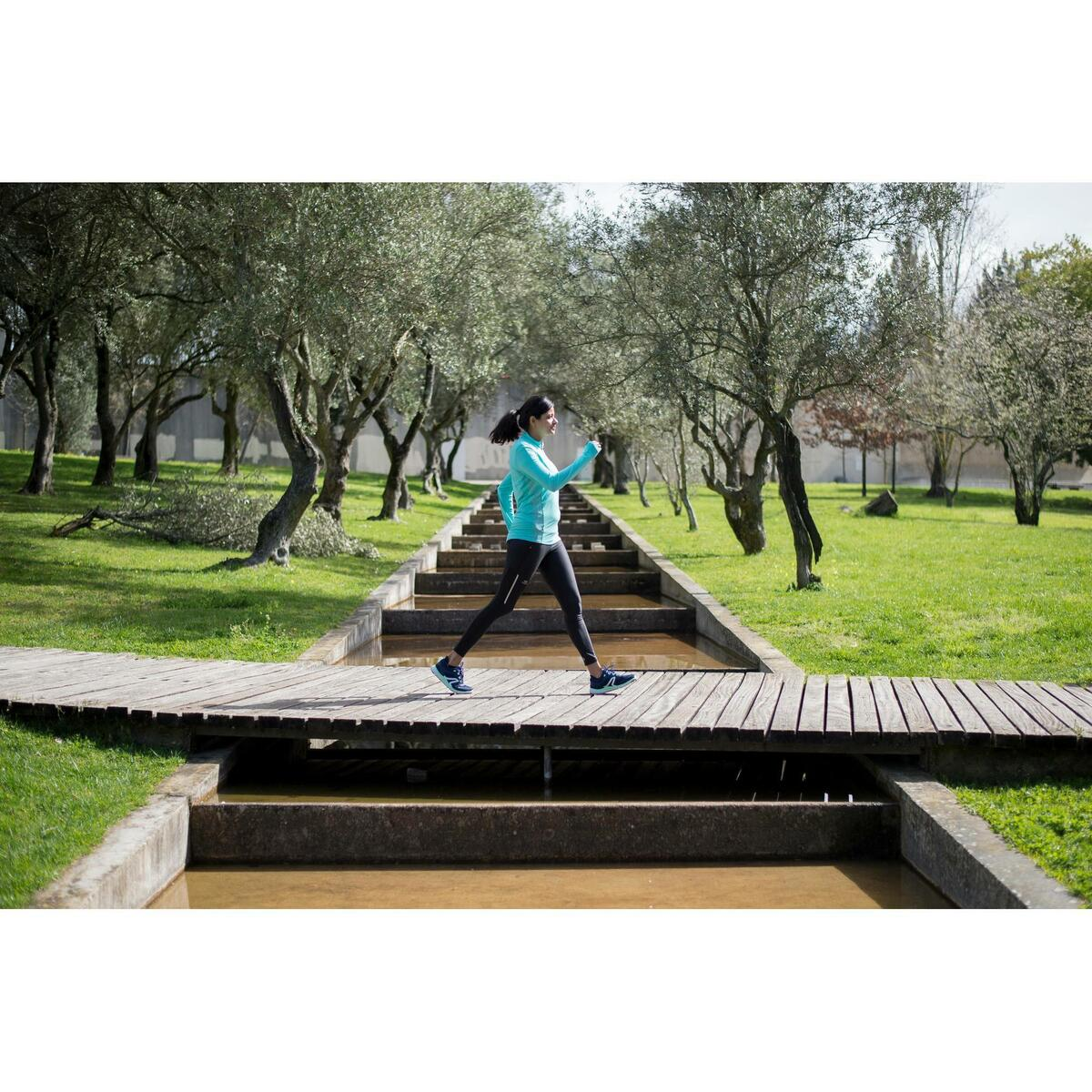 Bild 4 von Walkingschuhe Soft 540 Mesh Damen marineblau/grün