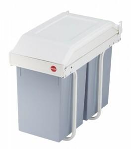 Hailo Einbauabfalleimer Multi-Box ,  2 x 14 l