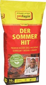 Profagus Buchen Grill-Holzkohle - Der Sommer-Hit ,  10 kg, grobstückig, brennt schnell an