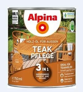 Alpina Teak Pflege Öl ,  750 ml