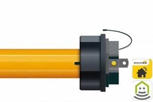 Schellenberg Funk-Markisenmotor PREMIUM 50 ,  für Markisen bis max. 21,0 m² Tuchfläche, Drehmoment 50 Nm