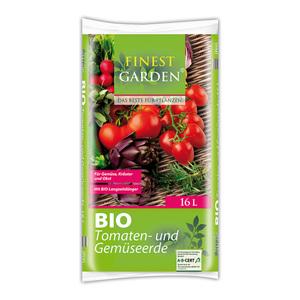 Finest Garden Bio-Tomaten- und Gemüseerde