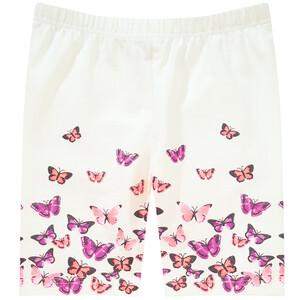 Mädchen Radler mit Schmetterling-Motiven