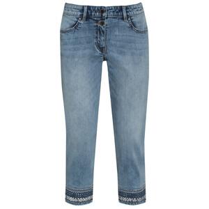7/8 Damen Jeans mit Pailletten