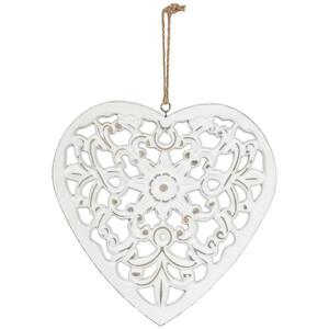 Herz-Hänger mit Ornamenten