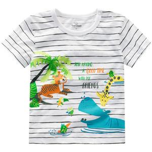 Baby T-Shirt mit Tier-Motiv