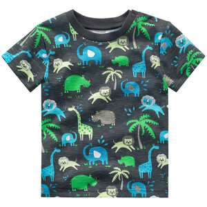 Baby T-Shirt mit Tier-Motiven