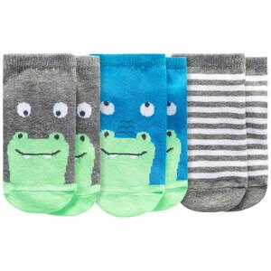 3 Paar Baby Sneaker-Socken