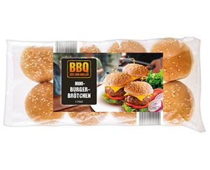 BBQ Mini-Burger-Brötchen