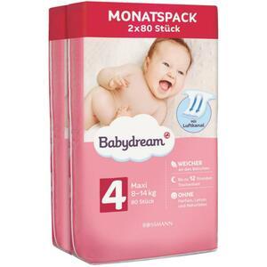 Babydream Windeln Monatspack Maxi Größe 4, 8-14 kg
