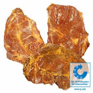 Frische Schweinenackensteaks natur oder versch. gewürzt, je 1 kg