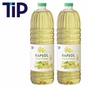 Reines Pflanzenöl aus Raps, jede 1-Liter-Flasche, ab 2 Flaschen je