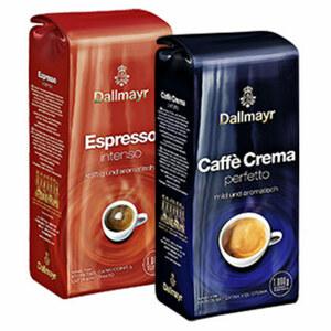 Dallmayr Crema Perfetto oder Espresso Intenso Bohne   jede 1000-g-Packung