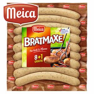 "Meica Grillwurst ""Bratmaxe"" 8+1 gratis, jede 560-g-SB-Packung"