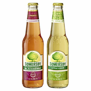 Somersby Cider versch. Sorten, jede 0,33-l-Flasche