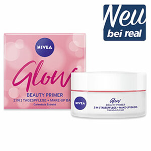Nivea Glow Beauty Primer 2-in-1 Tagespflege jede 50-ml-Packung