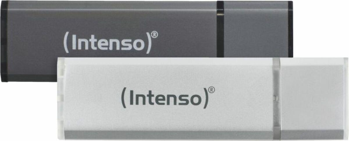Bild 1 von Intenso AluLine USB Drive 32GB Doppelpack (2x32GB)