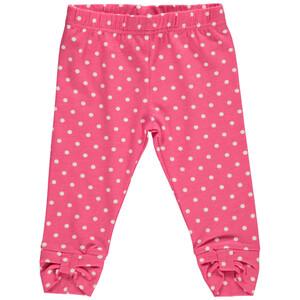 Baby Mädchen Leggings mit Punkten