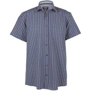 Herren Freizeithemd mit Minimalprint