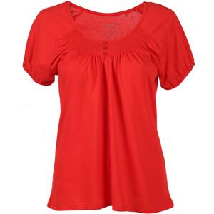 Damen T-Shirt mit gesmoktem Ausschnitt