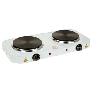 Kochplatte doppelt mit je 1000 Watt stufenlos regelbar