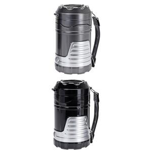 Campinglampe 2in1 aus Kunststoff mit 17 LEDs und Trageschlaufe